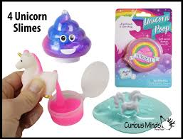 Unicorn Slime Pack Of 4