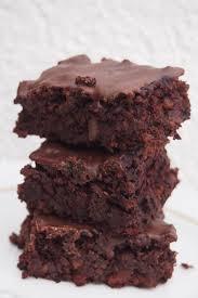 gesunde brownies ohne mehl und fett vegan
