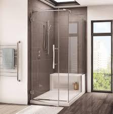 Maax Bathtubs Armstrong Bc by Fleurco Platinum Cube Shower Door W Alessa Seat Bath Emporium