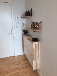 Ikea Mandal Headboard Hack hjemmelavet skoskab ny entré pinterest ikea hack apartments