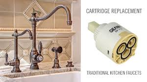 Pegasus Faucet Cartridge Removal by Cartridge Replacement On Traditional Waterstone Kitchen And Prep