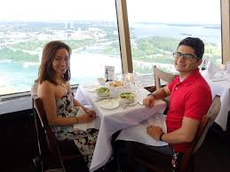 Skylon Tower Revolving Dining Room Yelp by Tea And Mousse Dessert Amazing View In The Background Yelp