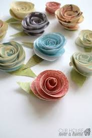 Who Knew A Paper Craft Could Be So Pretty This Video Tutorial Simple Way To Use And Bring Little Spring Cheer Your Home