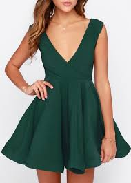 all the right moves forest green skater dress clothes