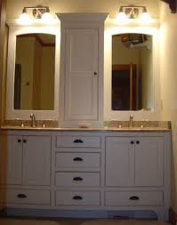 Bathroom Vanity With Tower Pictures by Double Vanity With Center Tower Home Decor Xshare Us