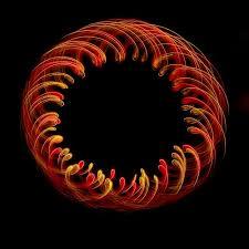 4 light Fire LED Orbital