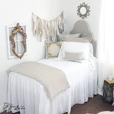 Select your extended length dorm bed skirt dorm headboard decorative pillows twin XL bedding dorm b