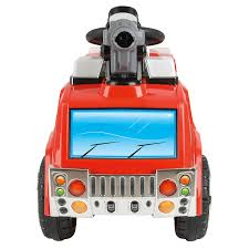Toyrific 6v Battery Powered Electric Fire Engine Ride On Car Truck ... Rescue Fire Truck Hip Hooray Amazoncom Kid Motorz Engine 6v Red Toys Games Ride On Toy Kids Car Children Push Along Outdoor Wheels Electric 1938 Classic Pedal Vintage Radio Flyer Fire Truck Ride On Kids Toy 27 Long Adventure Force Mighty Walmartcom Baghera Speedster Pompier Mee Ldon Best Choice Products Truck Speedster Metal Engine Little Tikes Spray And Freds Jolly Roger