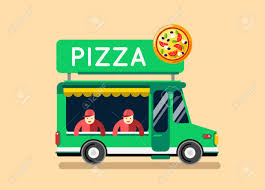 100 Green Pizza Truck Food City Car Food Auto Cafe Mobile Kitchen