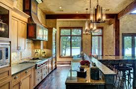 Ranch Style By The Lake Rustic Kitchen