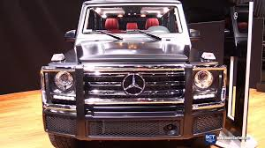 2016 Mercedes Benz G Class G550 V8 Exterior and Interior