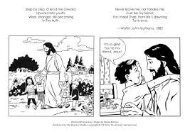 Coloring Book For Jesus Friend Of Little Children