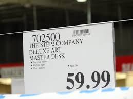 Step2 Art Easel Desk by The Step2 Company Deluxe Art Master Desk