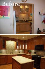 Open Concept Townhome Kitchen Remodel Created By Normandy Designer John Long Tearing Down The Wall