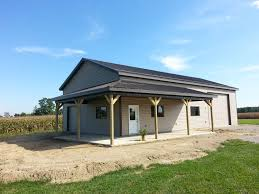 Garages And Pole Barns - Amish Contractor Post Frame Pole Barns And Metal Buildings In The Southern Indiana Pavilions Timberline Buildings 18 Best Barn Ideas Images On Pinterest Pole Garage Doors Decorations Using Interesting 30x40 For Appealing Decor Amish Contractors Barns In Ohio Builders We Build Precise Cabins Archives Weaver Barnsweaver Bunce Tru Country