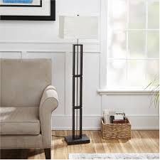 Hektar Floor Lamp Dark Gray by Rice Paper Shade Mainstays Dark Wood Floor Lamp With Rice Paper