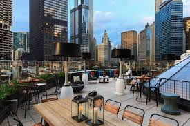 Raised: An Urban Rooftop Bar Restaurant In Chicago ... Best Modernday Chicago Spkeasy Bars The J Parker Rooftop Restaurant Restaurants In 2017 Our Picks For Every Type Of Drink Drumbar Roof Top Bar Bars In For Outdoor Drking And River North Things To Do Press Raised An Urban Chicagos 14 Hottest And Terraces Edition