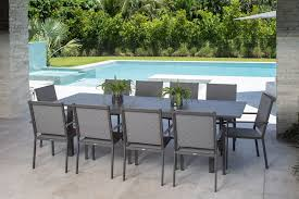 Explorer 11 Pc. Extendable Dining Set W/ Sling Chairs EXP042MCL Buy Outdoor Patio Fniture New Alinum Gray Frosted Glass 7piece Sunshine Lounge Dot Limited Scarsdale Sling Ding Chair Sl120 Darlee Monterey Swivel Rocker Wicker Sets Rattan Chairs Belle Escape Livingroom Hampton Bay Beville Piece Padded Agio Majorca With Inserted Woven Shop Havenside Home Plymouth 4piece Inoutdoor Nebraska Mart Replacement Material Chaircarepatio Slings