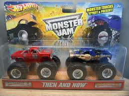 100 Shark Wreak Monster Truck 2011 HOT WHEELS 1 64 MONSTER JAM THEN AND NOW SAMSON MONSTER TRUCK 2