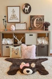 Woodland Creatures Nursery Bedding by Best 25 Rustic Baby Rooms Ideas On Pinterest Rustic Nursery