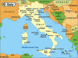 Basic Map Of Italy Puerto Rico