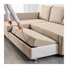 ikea friheten sofa bed with chaise skiftebo dark orange