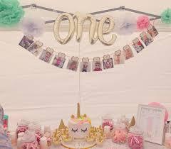 12 Months Photo Birthday Banner