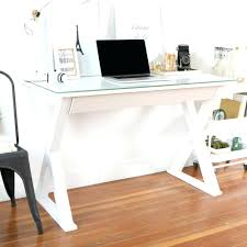 Glass And Metal Corner Computer Desk White by Desk Bright 127 White Corner Computer Desk For Home Enchanting