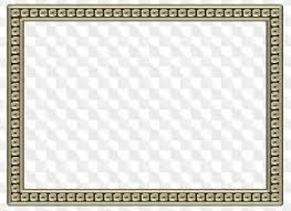 Decorative Frame PNG Image