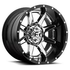 100 Black And Chrome Rims For Trucks Fuel 2Piece Wheels Rampage D247 Wheels Rampage D247 On Sale