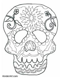 Day Of The Dead Calavera Skull Mask