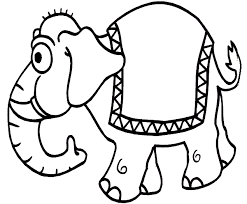 Modest Coloring Pages Of Elephants Cool Book Gallery Ideas
