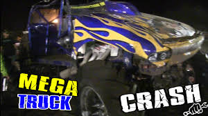 Tazmanic Mega Truck Rolls Violently At Bithlo Mud Racing Event