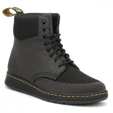 dr martens black anthracite rigal knit boots 22800924 tower