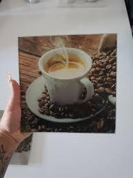 glasbilder küche kaffee