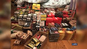100 Holmby Man Arrested After LAPD Seizes Massive Gun Collection At
