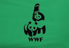 wwf panda world wildlife chair attack t shirt animetee