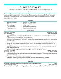 Executive Assistant Resume Samples 2016 Awesome 22 Elegant Administrative Example Lordvampyr Net