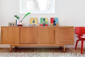 Home Decor Tempting Mid Century Credenza With Sideboards Awesome