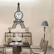 contemporary ideas living room clock fashionable design wall