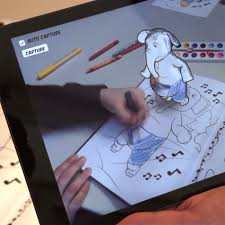 Disney Research Uses Augmented Reality To Bring Childrens Coloring Books 3D Life