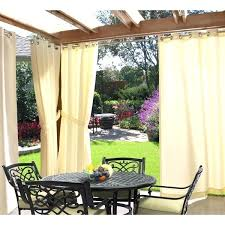Pottery Barn Outdoor Curtains by Outdoor Sheer Curtains Outdoor Stainless Steel Curtain Industrial