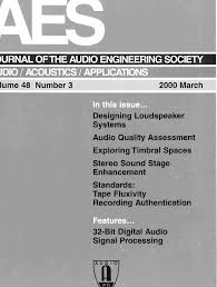 AES E Library Complete Journal Volume 48 Issue 3