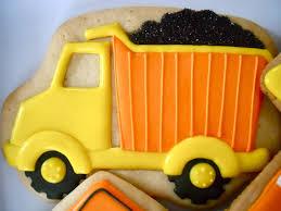 100 Dump Truck Cookies Oh Sugar Events Construction