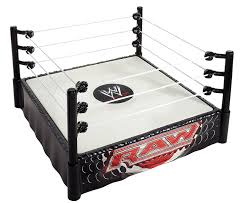 Wwe Raw Cake Decorations by Amazon Com Wwe Raw Superstar Ring Toys U0026 Games