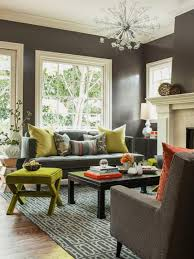 Best Paint Colors For A Living Room by Living Rooms That Pop With Color Hgtv