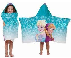 Disney Bathroom Set India by Amazon Com Disney Frozen Hooded Towel Wrap Cape Elsa And Anna