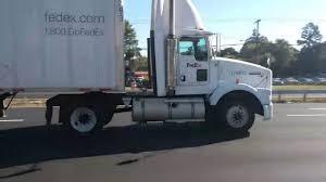 100 Fedex Freight Truck FedEx Kenworth T800 YouTube