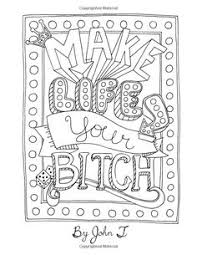 Make Coloring Book Pages From Photos 8 First Class 0f1370bf97e169c6f218e05bb0a1ad83 For Adults Curse Words Swearing