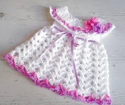 newborn dress baby girl dress crochet dress crochet newborn